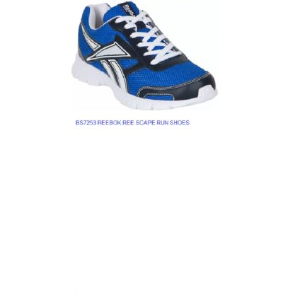 d3ed7df6f48 reebok mens ree scape run blue and white running shoes (reebok by adidas)(bs7253  ree scape run)